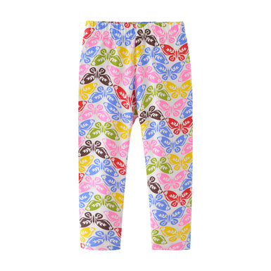 Fall 2018 Colorful Butterfly Legging For Your Little Girl - Fairybi