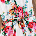 The 2018 Trendiest Stunning Floral Jumpsuit for Girls - Fairybi