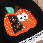 The 2018 Boo Pumpkin Halloween Clothing Sets for Girls - Fairybi