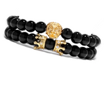 King Lion Double Bracelet