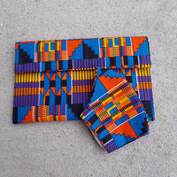 River Kente Clutch