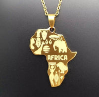 Details of Africa Necklace