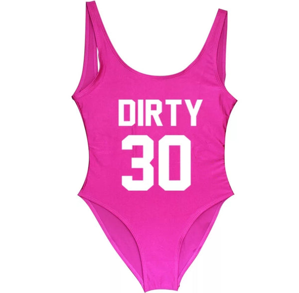Dirty 30 Swimsuit