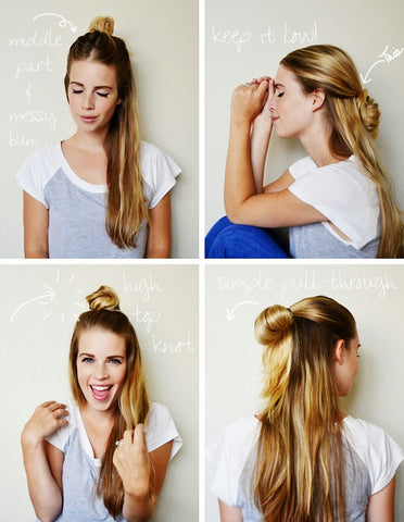 5 Easy Hairstyles For Summer 2018 Silly People