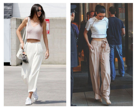 Kendell Jenner wearing trousers