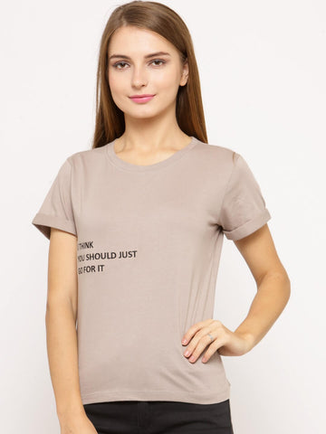 Women's T-shirt With Embroidery