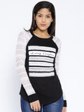 Women's T-shirt With Lace