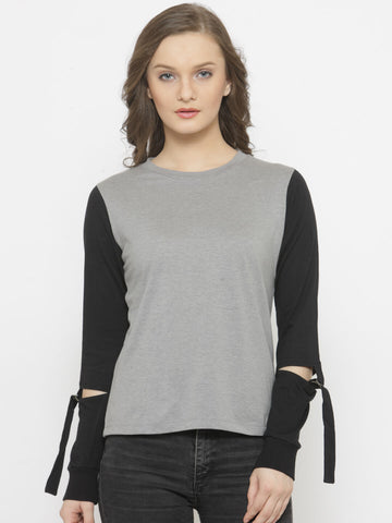 Women's Long sleeves T-shirt With D Ring