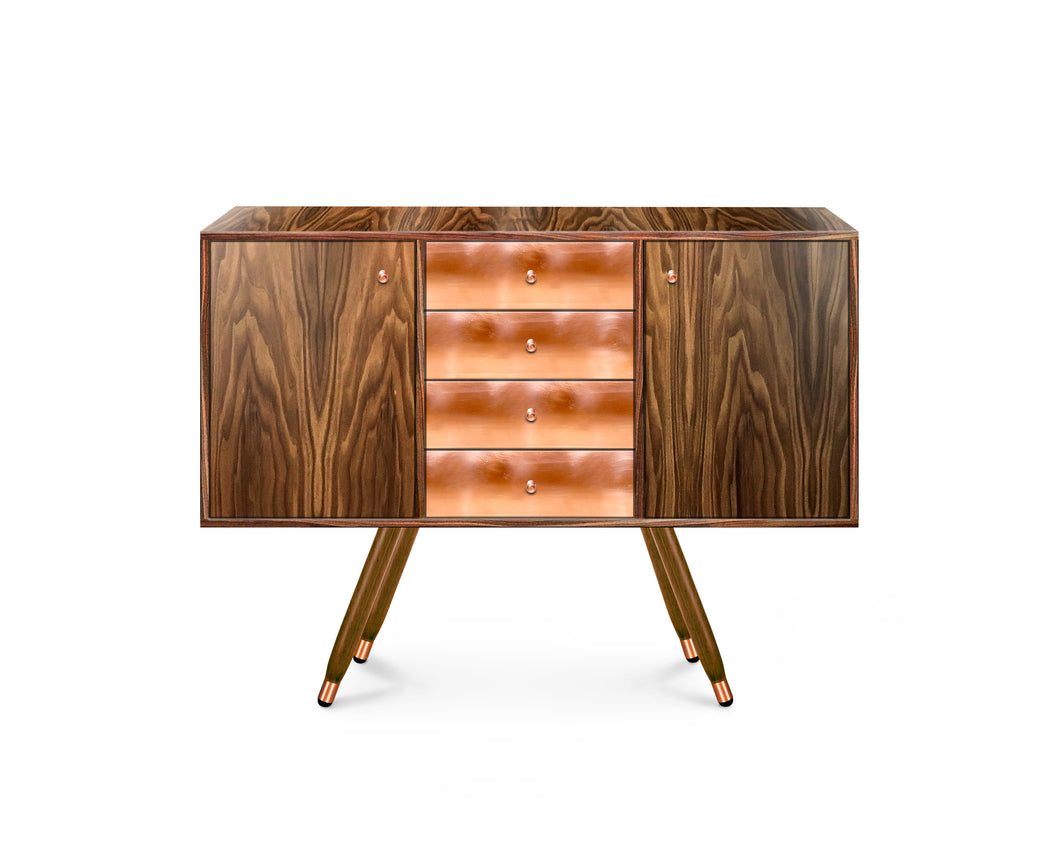 Walnut Buffet Marbot Copper edition