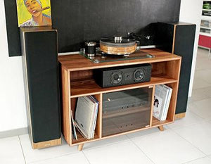 Vinyl Stereo Accent Cabinet Nirvana