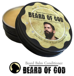 Beard of God - Beard Balm Conditioner (2oz can)