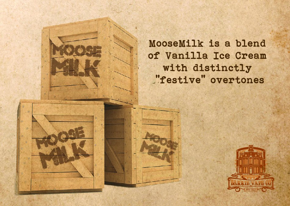 SOAK E-Liquid - Moose Milk