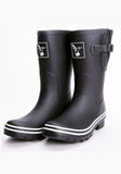 Evercreatures Plain Black Short Wellies