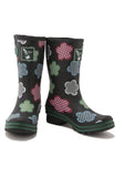 Evercreatures Black Gingham Short Wellies