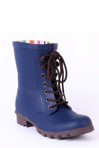 Evercreatures Blue Beret Short Wellies