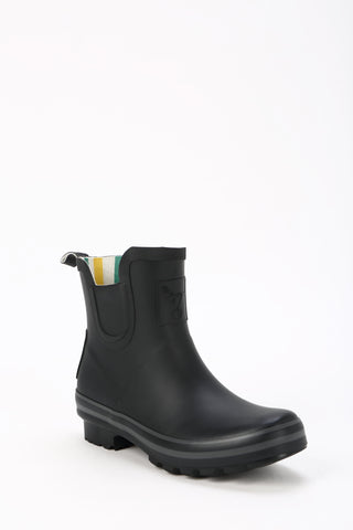 Evercreatures All Black Plain Meadow Wellies