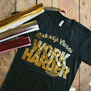 Customized-Gold Foil Tee