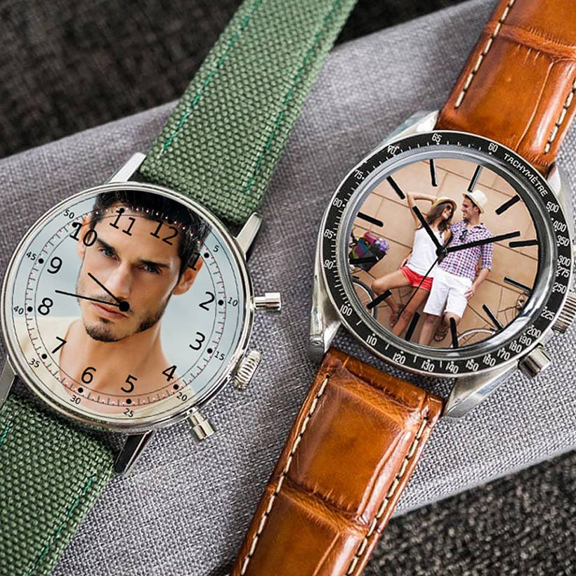 Create Your Own Wrist watch AF Leather Strap
