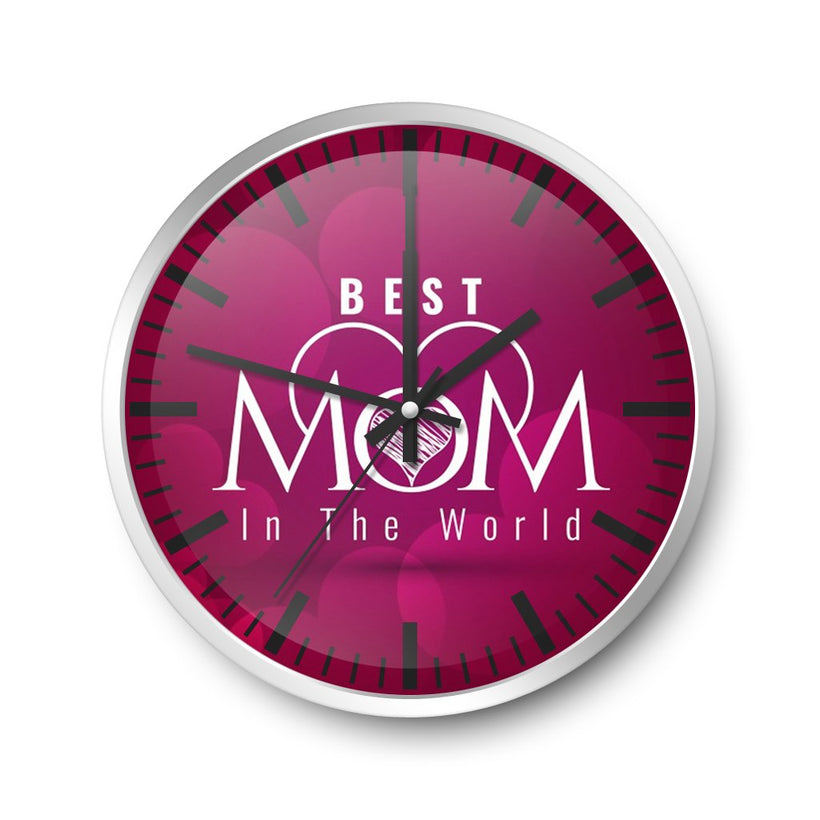 Mother Day Wall Clock