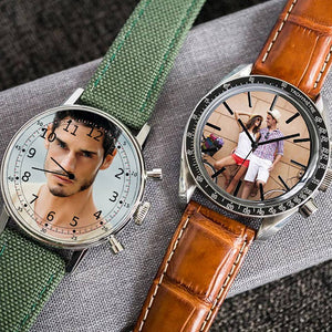 Customized Wrist watch AF Leather Strap