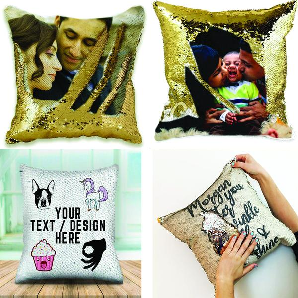 Customized Magic Sequin Cushion