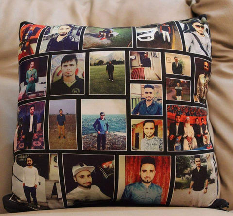 Customize Collage photo Cushion