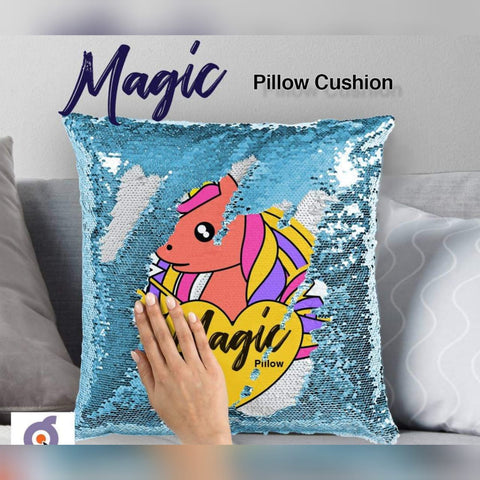 Customized Sequin  Magic cushion