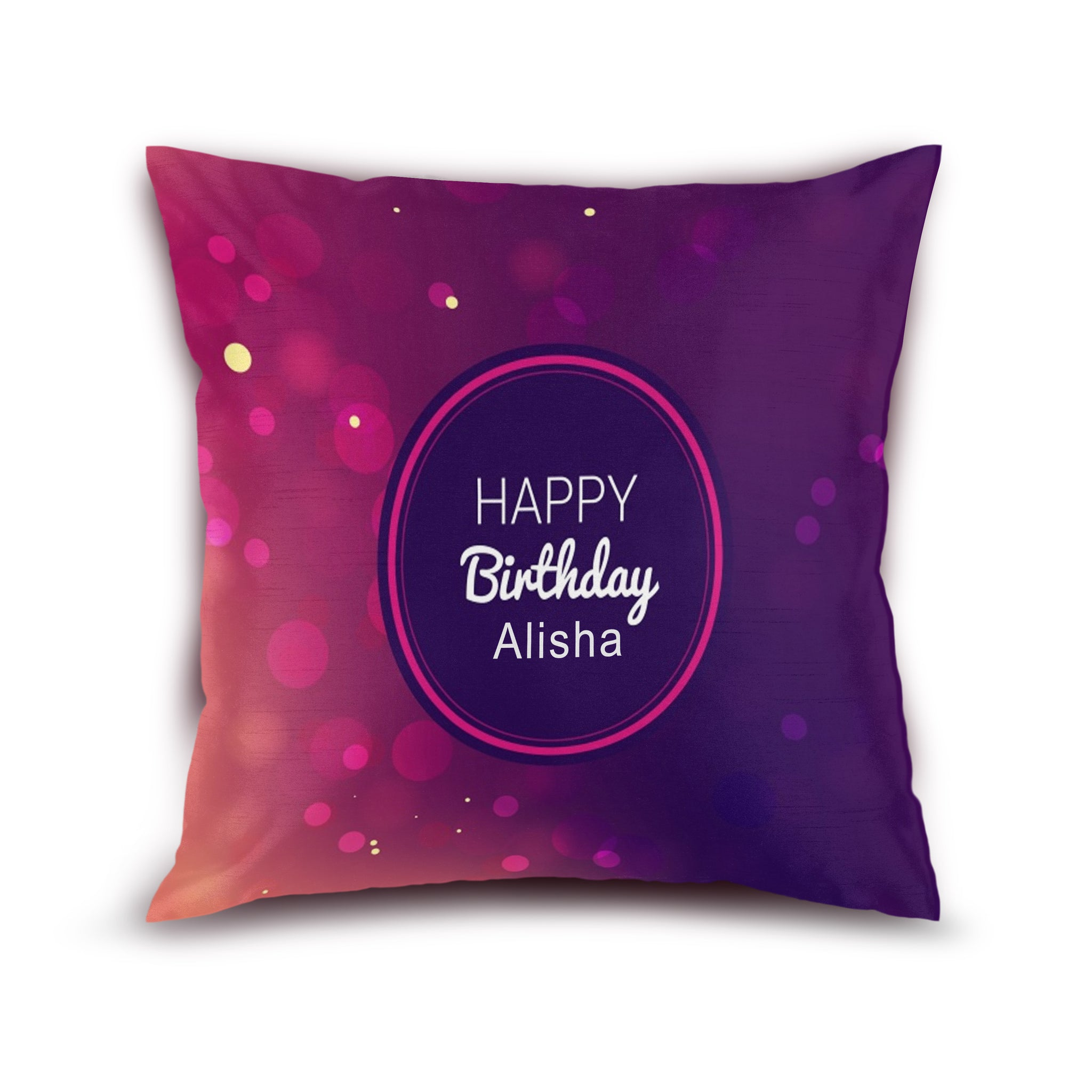 Birthday Personalized Cushion