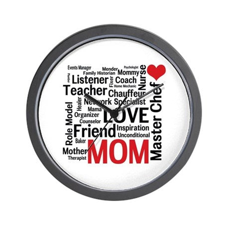 For Mother Wall Clock 03
