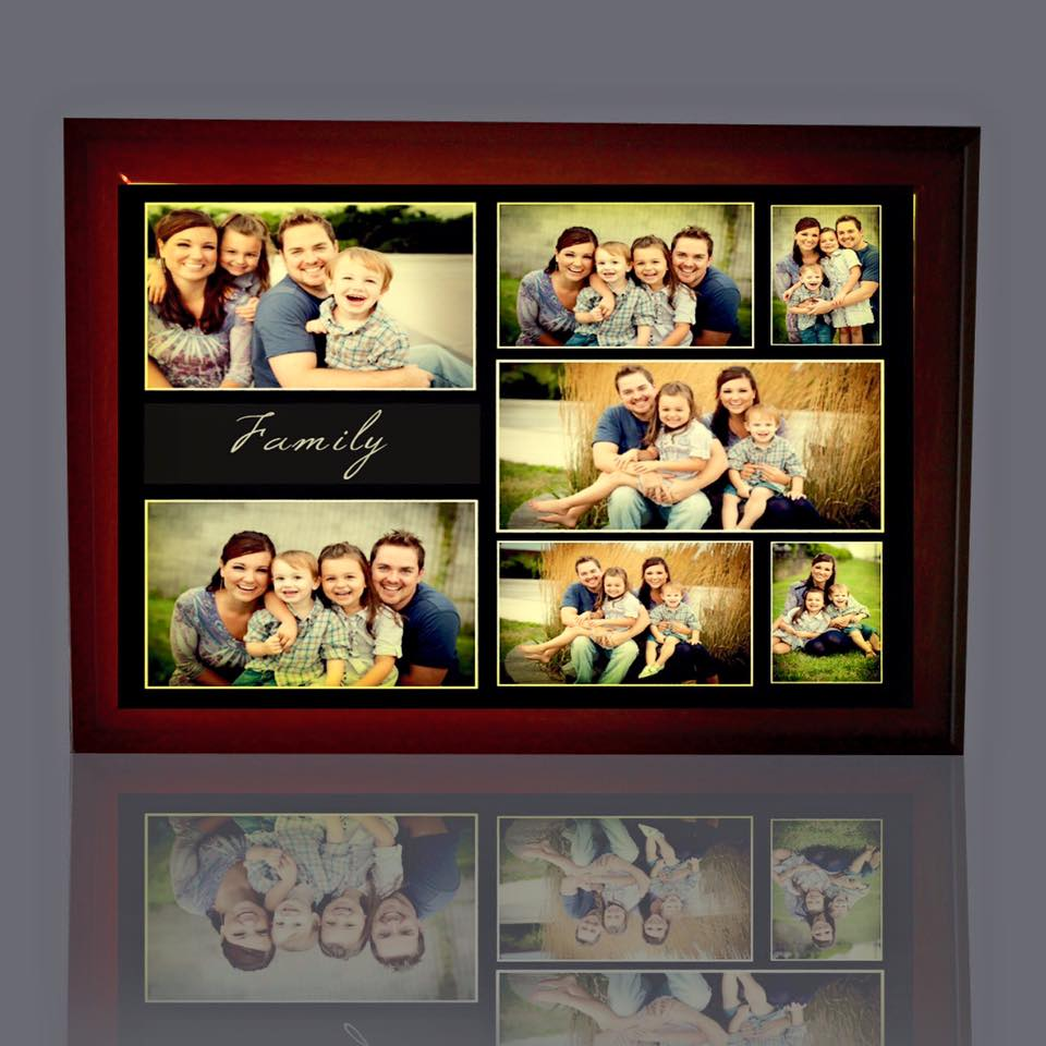 Collage Photo LED Frame
