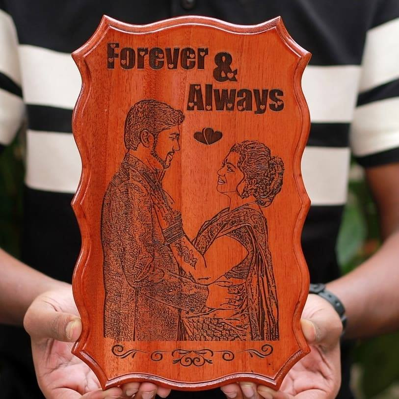 Copy of Personalized Engraved Wooden Frame