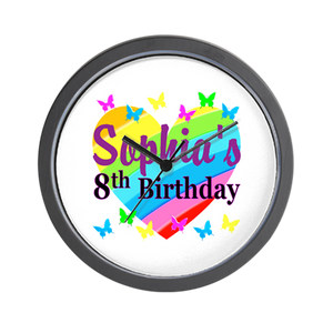 Birthday Wall Clock 04