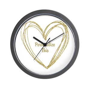 Personalized Couple Wall Clock 02