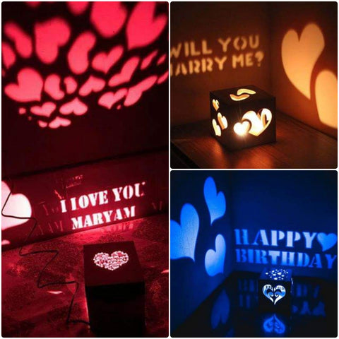 Wooden Engraved Shadow Message  LED Lamp ⭐️⭐️⭐️⭐️⭐️  CUSTOMER REVIEWS