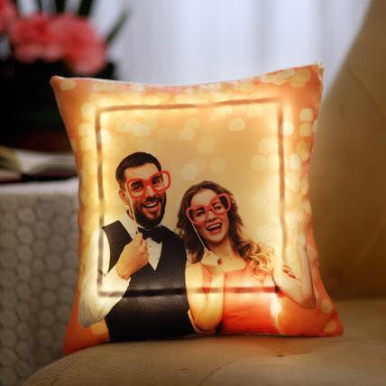 Personalized Photo LED Cushion