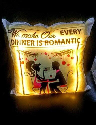 Special Personalized LED Cushion(Size: 18x18 Inch) ⭐️⭐️⭐️⭐️⭐️  CUSTOMER REVIEWS
