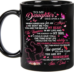 To My Daughter Mug