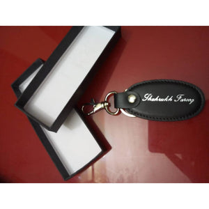 Personalized Leather Name Key-chain(100% Leather)