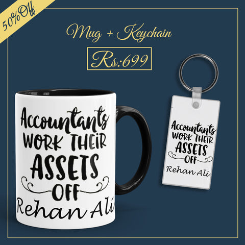 Accountant Deal(Mug+Keychain)