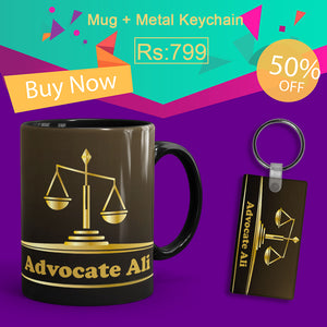 Lawyer Deal(Mug+Keychain)