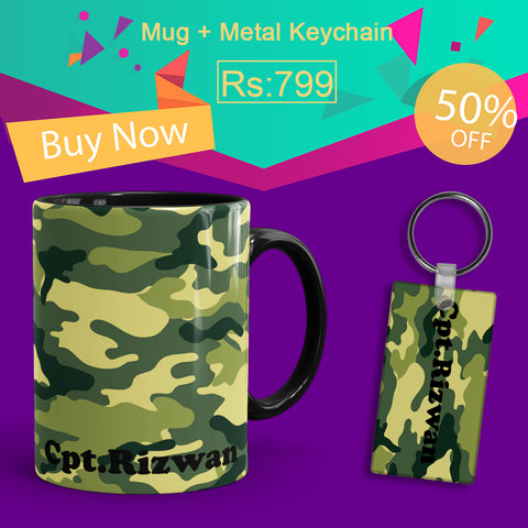 Army Deal(Mug+Keychain)