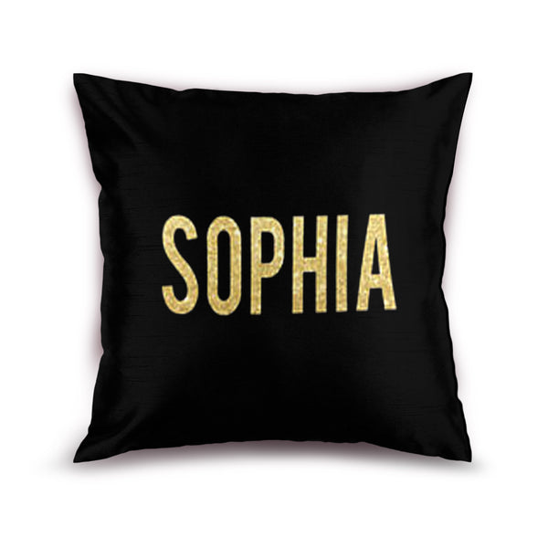 Gold Name Cushion(Customized)