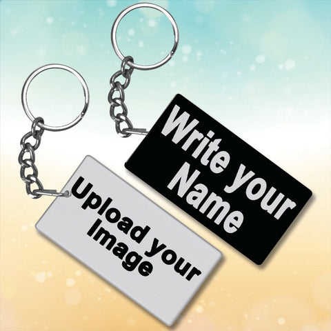Create Your Own Metal Key-Chain (Design Your Own)