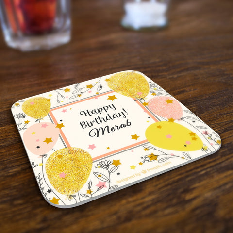 Birthday Coaster 12