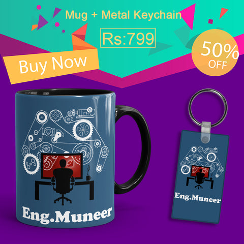 Engineer Deal(Mug+Keychain)
