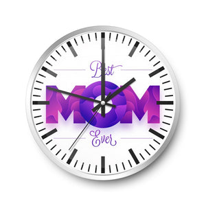 For Mother Wall Clock Camellias