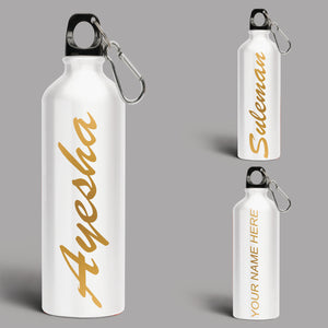 Personalized Flask Insulated Stainless Steel Water Bottle(Dual Walled - 24 hours cold Insulation)