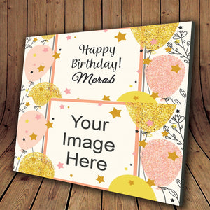 Create Your Own Birthday Photo Frame