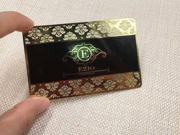 Gold-Metal-Frosted-Business-Card