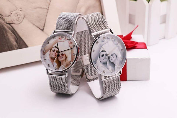 Personalized Alloy Bracelet Watch